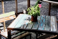 Cosy Table Stock Photography