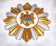 Cot of Arms of Moldova inside Cricova cellars