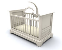 Cot for baby stock illustration