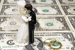 Coût de mariage Images libres de droits