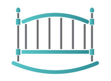 Cot. Vector illustration. Icon Royalty Free Stock Image