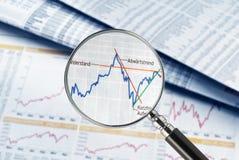 Cotação no foco Imagem de Stock