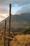 Cotacachi-Volcano Royalty Free Stock Images