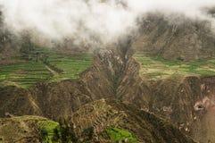 cotahuasi Περού φαραγγιών Στοκ φωτογραφία με δικαίωμα ελεύθερης χρήσης
