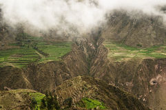 cotahuasi Перу каньона Стоковая Фотография RF