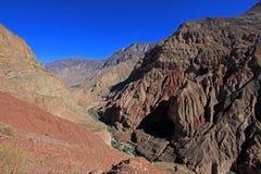 Cotahuasi Peru view into deep canyon Royalty Free Stock Photos