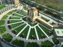 Cotai, Macau. Wonderful view from the hotel at Cotai, Macau Royalty Free Stock Images
