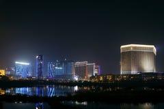 Cotai paska kurortu kasynowy teren Macau Macao porcelana Fotografia Stock