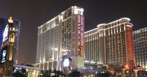 Cotai Strip Casino stock footage