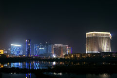 Cotai strip casino resort area of macau macao china Stock Photography