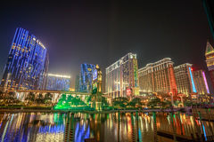 Cotai Strip Macau Royalty Free Stock Images