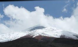 Cotapaxi火山 免版税库存照片