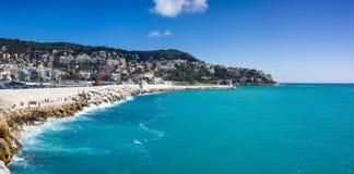 法国海滨 库存照片