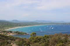 Cote d ` Azur obrazy royalty free