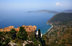 Cote d'Azur royalty free stock photo