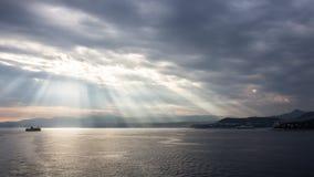 Cote d'Azur Arkivfoton