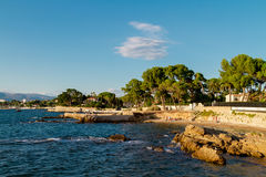 Cote d`azur Royalty Free Stock Images
