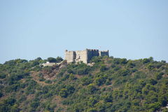Cote d'Azur Castle Royalty Free Stock Photography