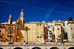 Cote d'Azur, França, Menton Imagens de Stock