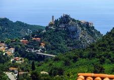 Cote d'Azur, France, sea coast view Royalty Free Stock Image