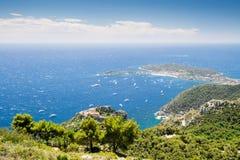 Cote d'Azur Frankrike Arkivfoto