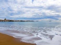 Cote d'Azur frejus stockfotos