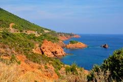 Cote d'Azur Stock Images