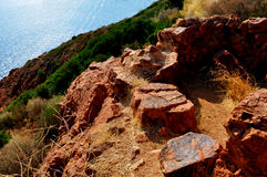 Cote d'Azur Royalty Free Stock Photos