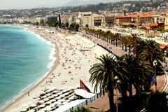 Cote d'Azur gentil Photos stock