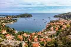 Cote d'Azur i Nice, Frankrike Arkivbilder
