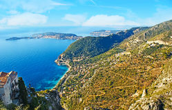 Cote d`Azur Royalty Free Stock Photo
