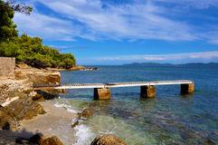 Cote d'Azur krajobraz Zdjęcie Royalty Free