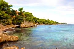Cote d'Azur Landscape Royalty Free Stock Images