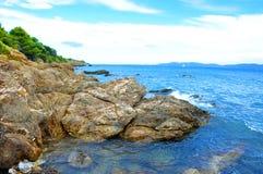 Cote d'Azur Landscape Stock Images