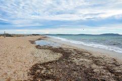 Cote d'Azur Landscape Stock Image