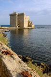 Cote d'Azur, the Lerins Islands : fortified monastery of abbey S Royalty Free Stock Images