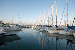 Cote d'Azur marina Royalty Free Stock Images