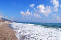 Cote d'Azur Meer lizenzfreie stockfotos