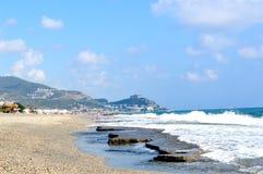 Cote d'Azur Meer lizenzfreies stockbild