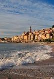 Cote D'Azur Menton della Francia Fotografia Stock