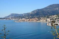 Cote d'Azur-Menton-France Stock Photography