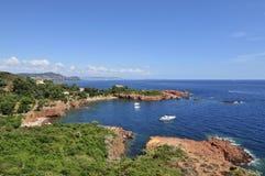 Cote d Azur, Provence, Francja obrazy royalty free