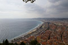Cote d'azur Stock Photography