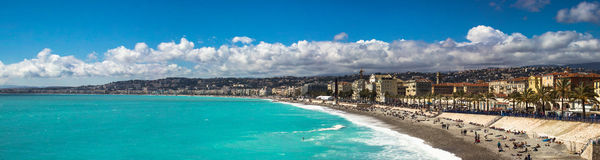 French Riviera. Cote d'Azur Riviera in Nice Royalty Free Stock Photo