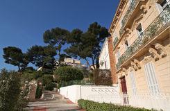 Cote d'azur town Royalty Free Stock Photography
