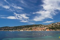 Cote d'Azur Royalty Free Stock Photos