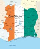 Cote d'Ivoire Royalty Free Stock Image