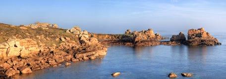 cote Du Granit panorama wzrastał Obrazy Stock