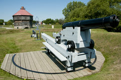 Coteau Du Lac Historic Military Fortifications - Quebec - Canada Royalty Free Stock Photography