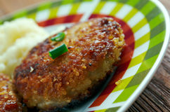 Cotelettes de poulet Pojarski Royalty Free Stock Images